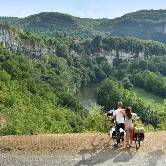 Véloroute Vallée et Gorges de l'Aveyron