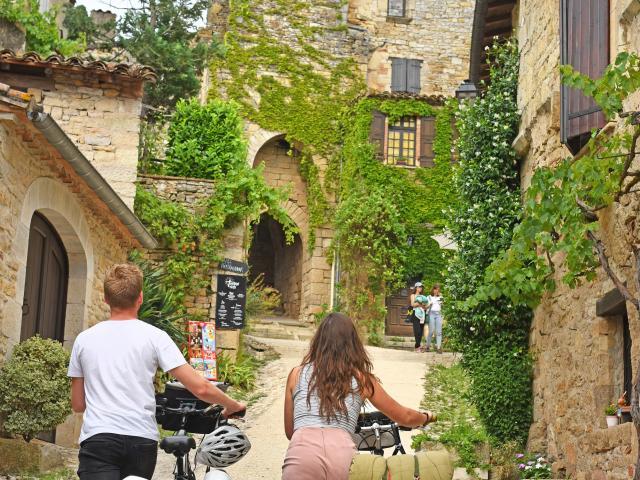 Bruniquel - Véloroute des Gorges de l'Aveyron