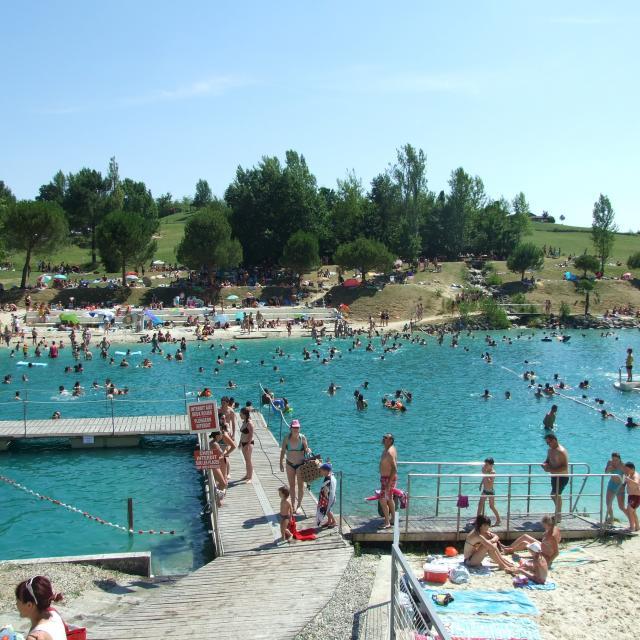 Monclar Lac Affluence 3175