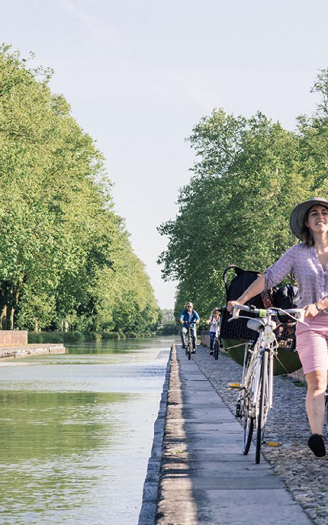 Sur le pont canal du Cacor - Carnet de voyage France