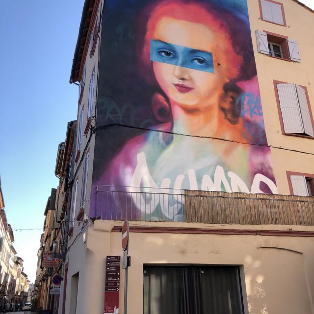 Street Art Montauban Olympe 3579