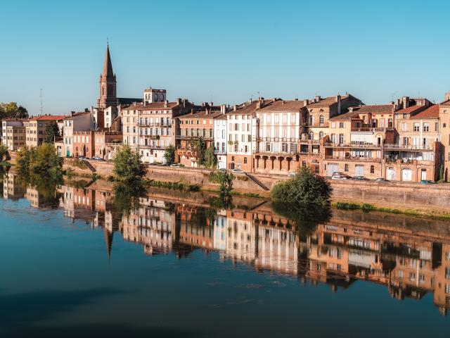 Vue Montauban Quai Villebourbon