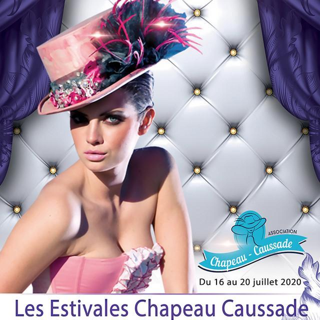 Affiche Estivales Chapeaux Caussade