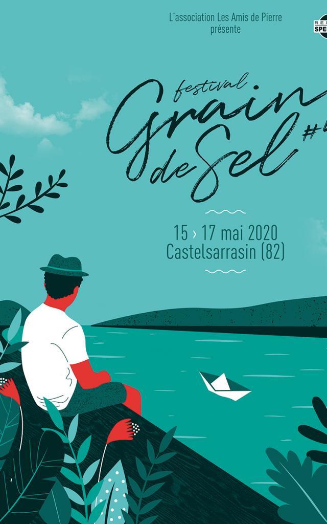 Affiche Grain De Sel festival castelsarrasin 2020