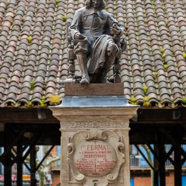 Beaumont De Lomagne Monument à Fermat