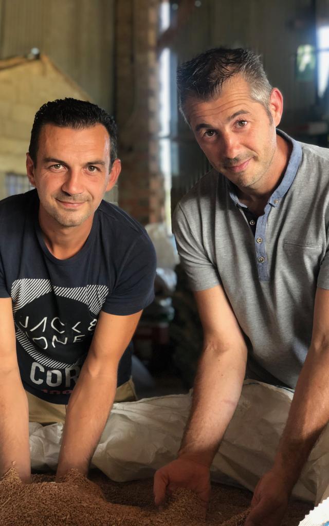 Julien Et Olivier Earl De Saint Porquier