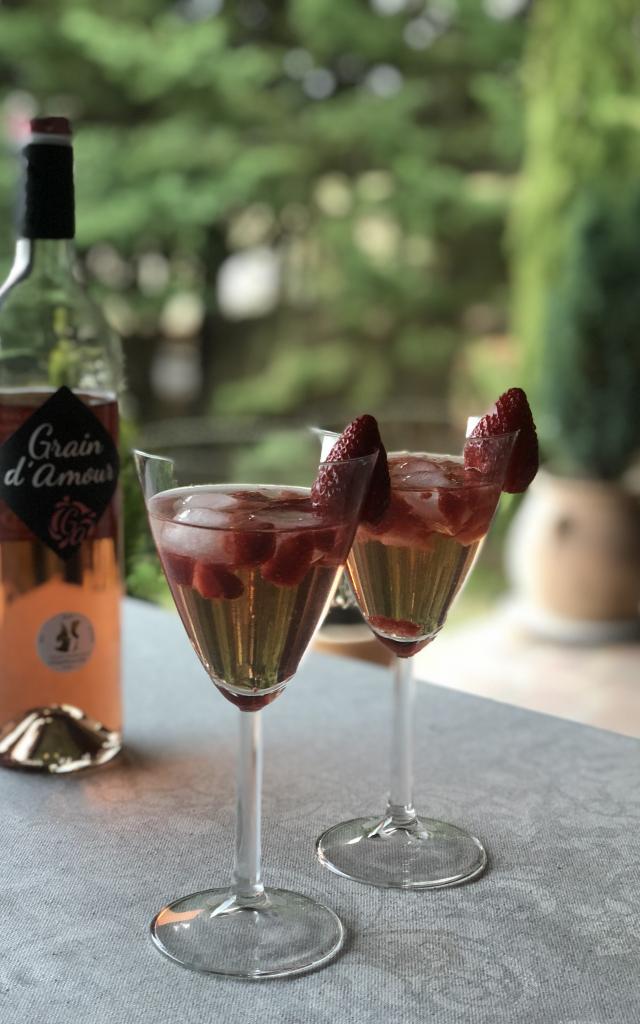 Cocktail Grain Damour Rosé