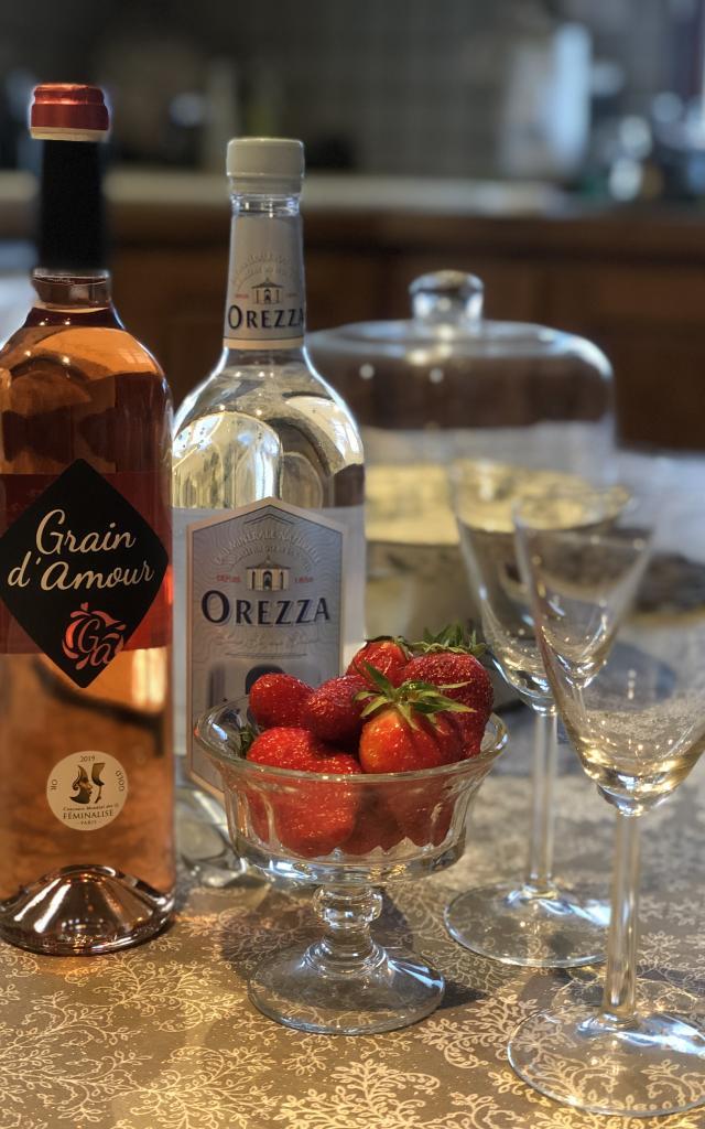 Ingrédients Cocktail Grain D'amour