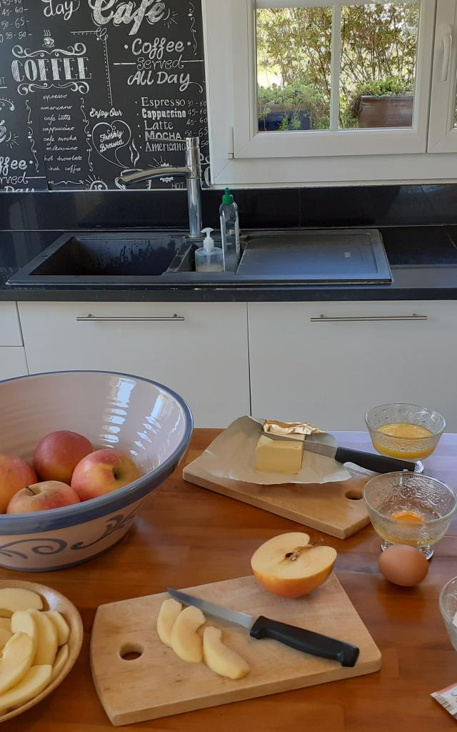 Ingredients Tarte Aux Pommes
