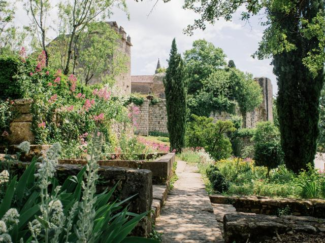 Les gorges de l'Aveyron sur le GR46 - Bruniquel - carnet de voyage France