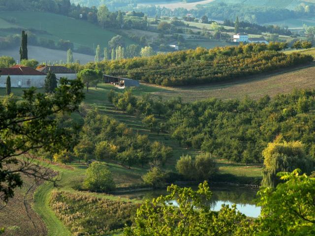 Coteaux du Quercy Ferme Lac Et Verger