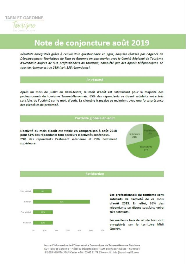 Note Conjoncture 2019 Aout
